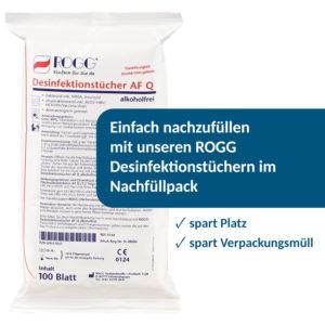 ROGG Desinfektionstücher AFQ Nachfüllpackung