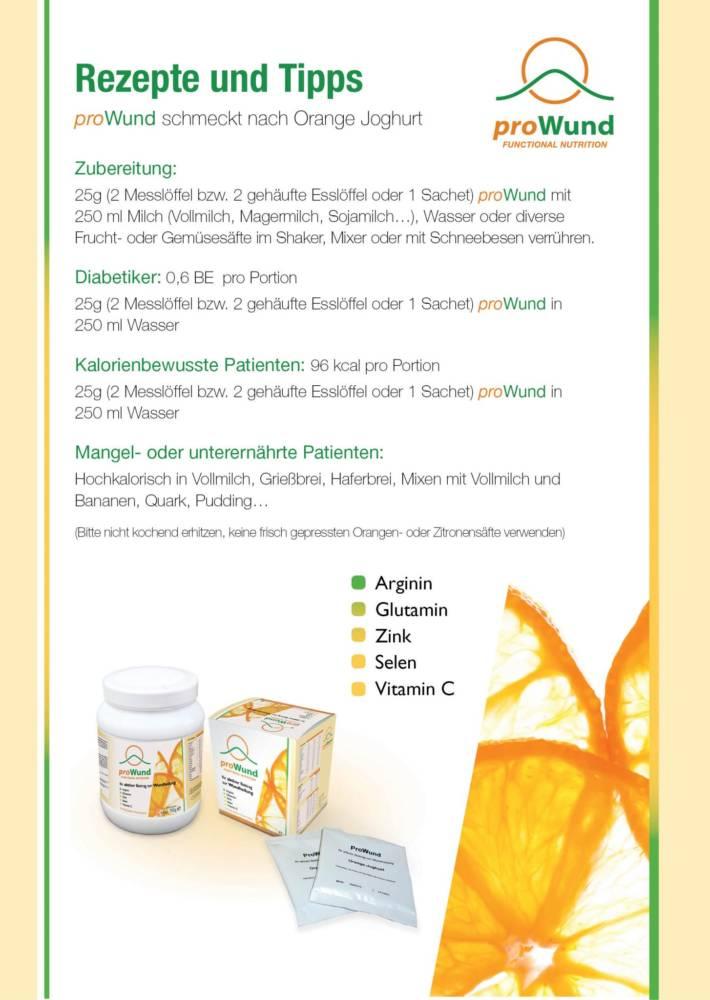 proWund unterstützt die natürliche Wundheilung
