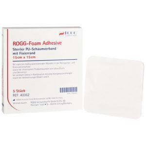 PU-Schaumverband ROGG Foam adhesiv mit Fixierrand