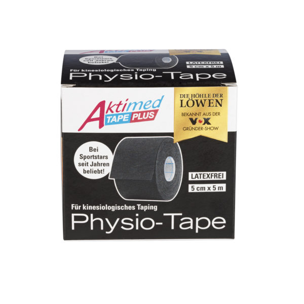 Aktimed Tape plus schwarz